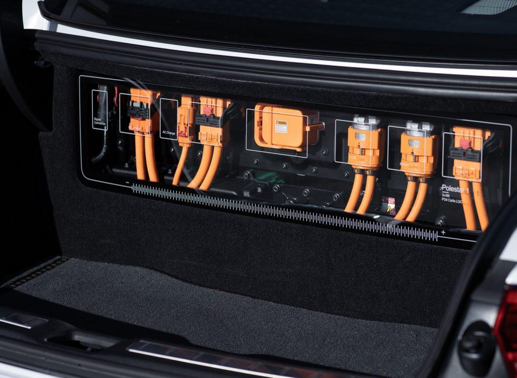 Volvo Polestar 1 2020, багажник