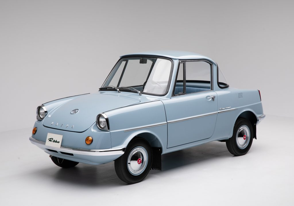 Первенец Mazda R360 1960 года