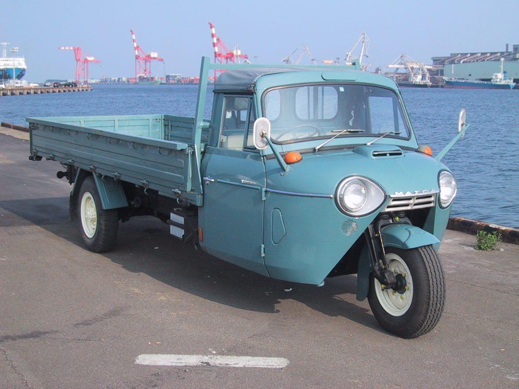 Трехколесный грузовик Mazda, 1957 год