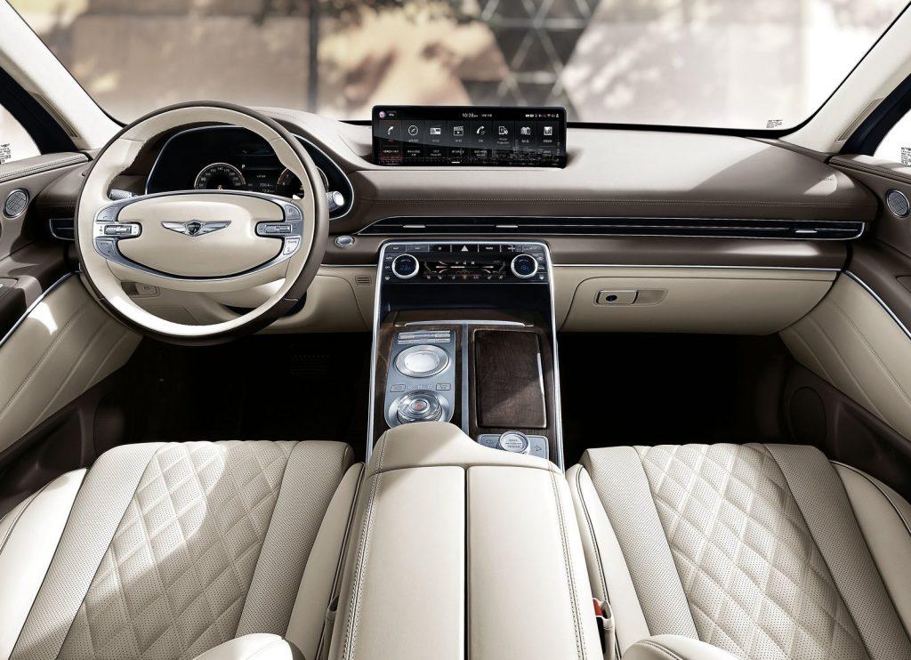 Новый Hyundai Genesis GV80, салон