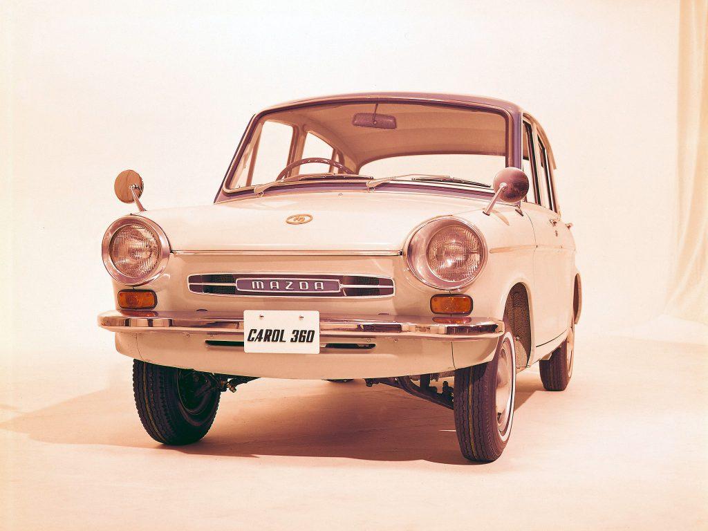 Mazda Carol 360 1962 года