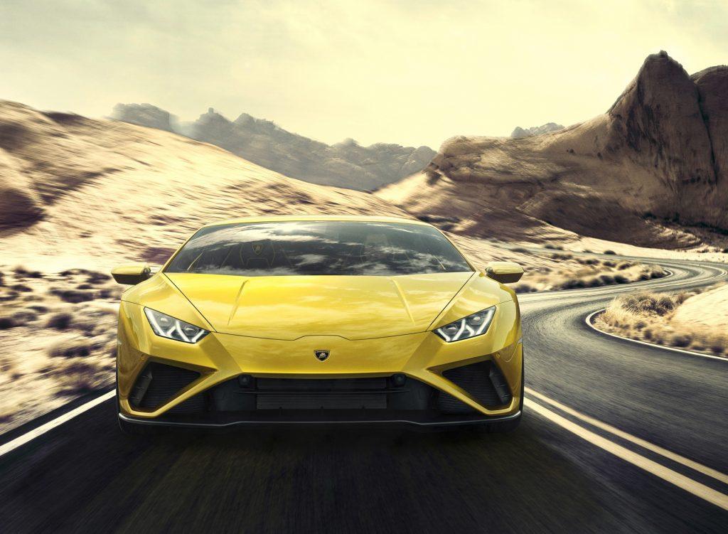Lamborghini Huracan Evo RWD 2020, вид спереди
