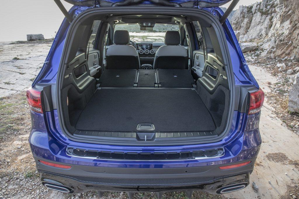 Mercedes-Benz GLB 2020, багажник