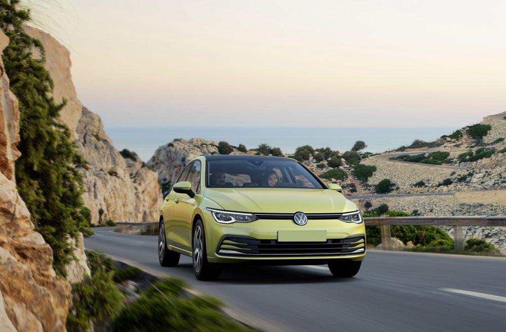 Volkswagen Golf 2020, вид спереди