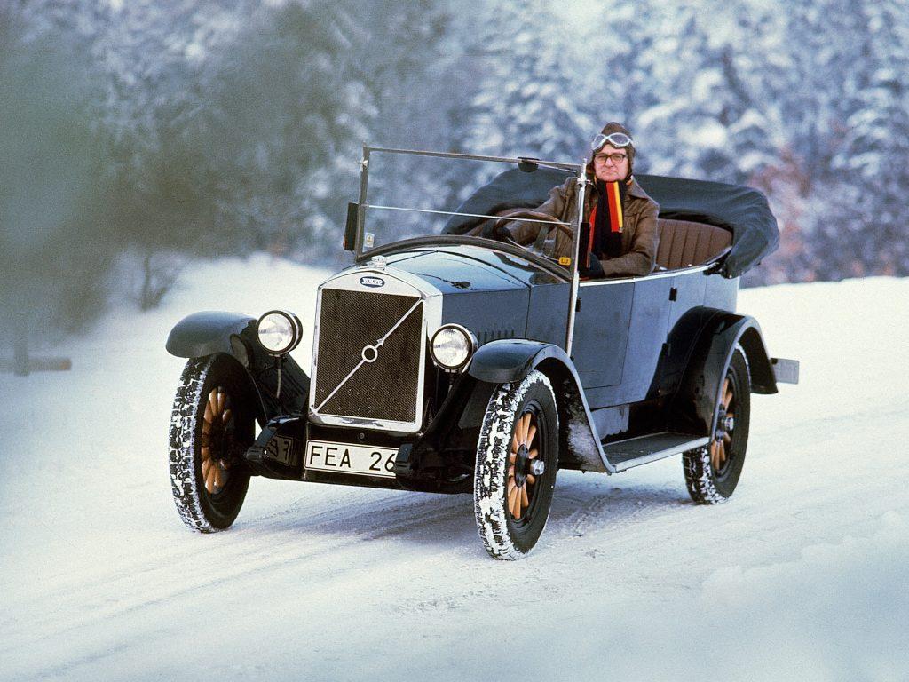 Volvo ÖV4 1927 года