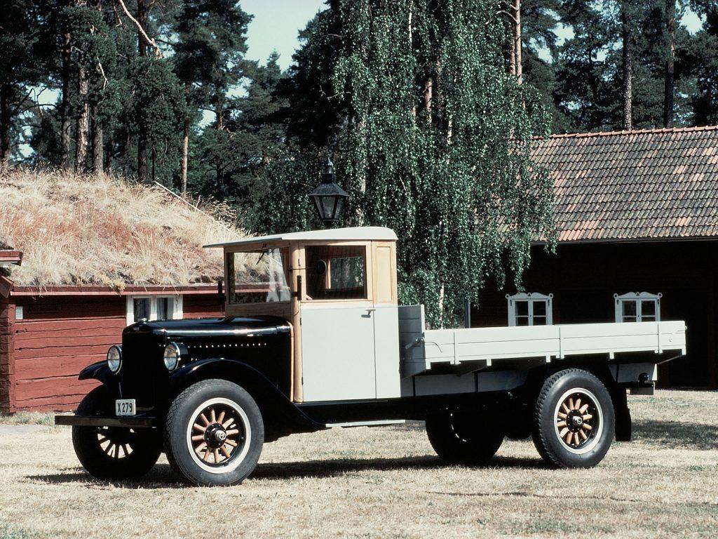 Первый грузовик Volvo LV40 1928 года