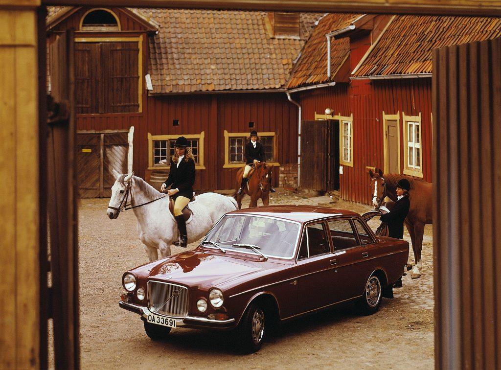 Представительский Volvo 164, 1968 год