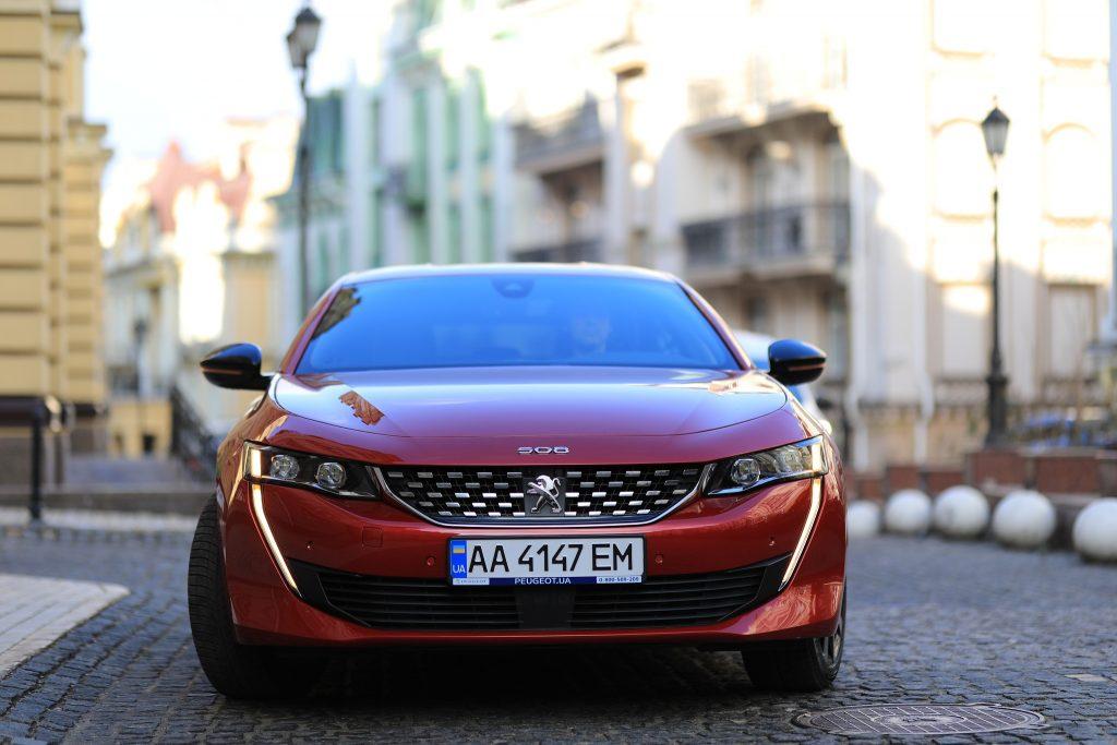 Peugeot 508 2020, вид спереди