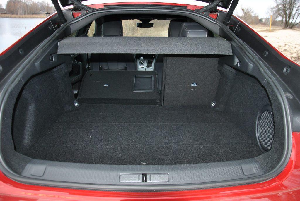 Новый Peugeot 508, багажник