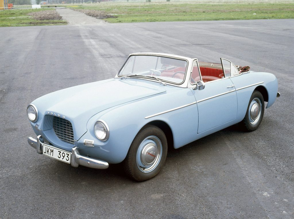 Volvo P1900 1956 года