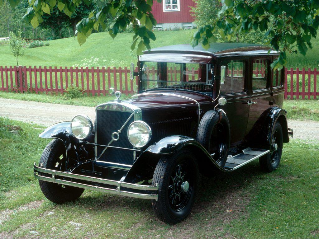 Volvo TR673 1931 года
