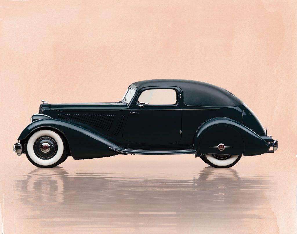 Аэродинамическое купе Packard Twelve 1934 года