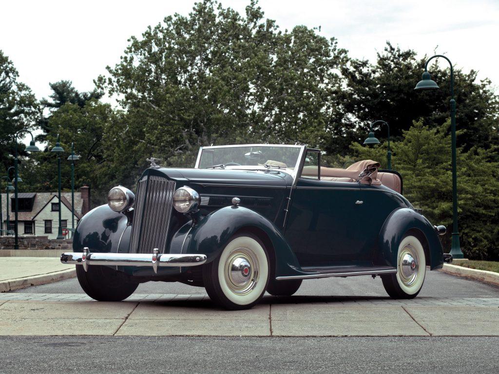 Доступный Packard Six 1937 года