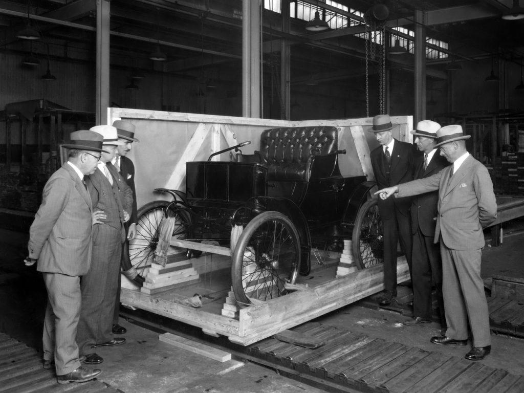 Первый Packard Model A 1899 года