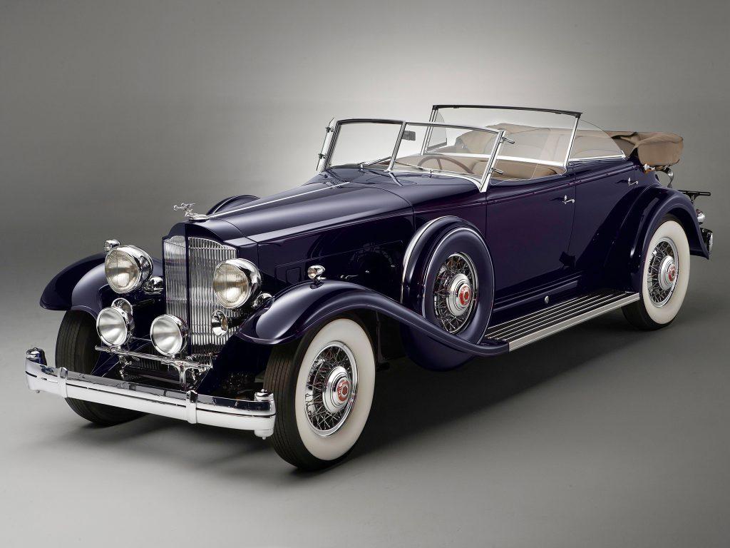 Фаэтон Packard Twin Six 1932 года