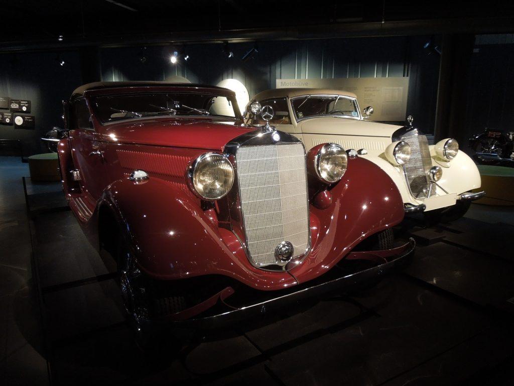 Кабриолеты Mercedes 170 и 230