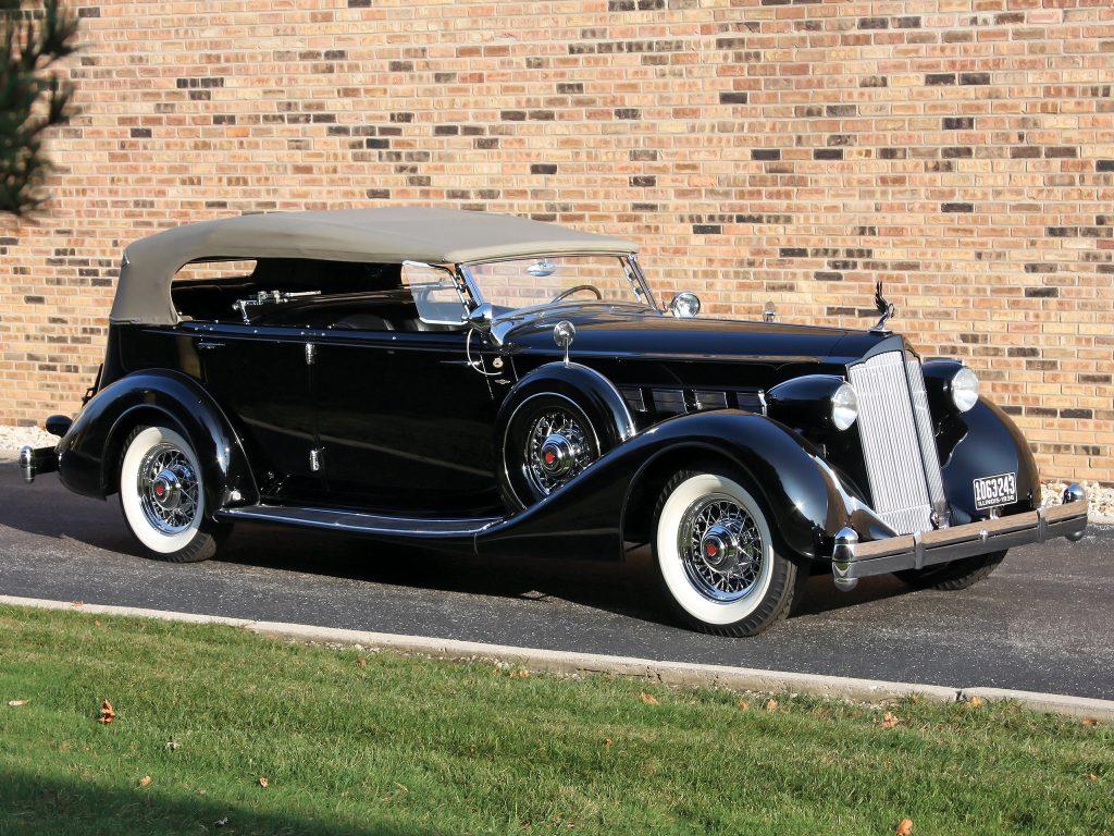 Packard Super Eight 1936 года