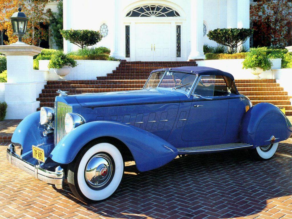 Packard Twelve Boattail Speedster принадлежал актеру Кларку Гейблу