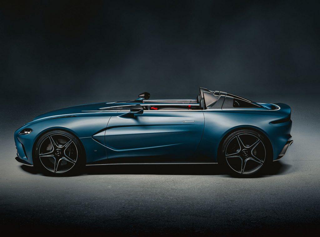 Aston Martin V12 Speedster 2020, вид сбоку
