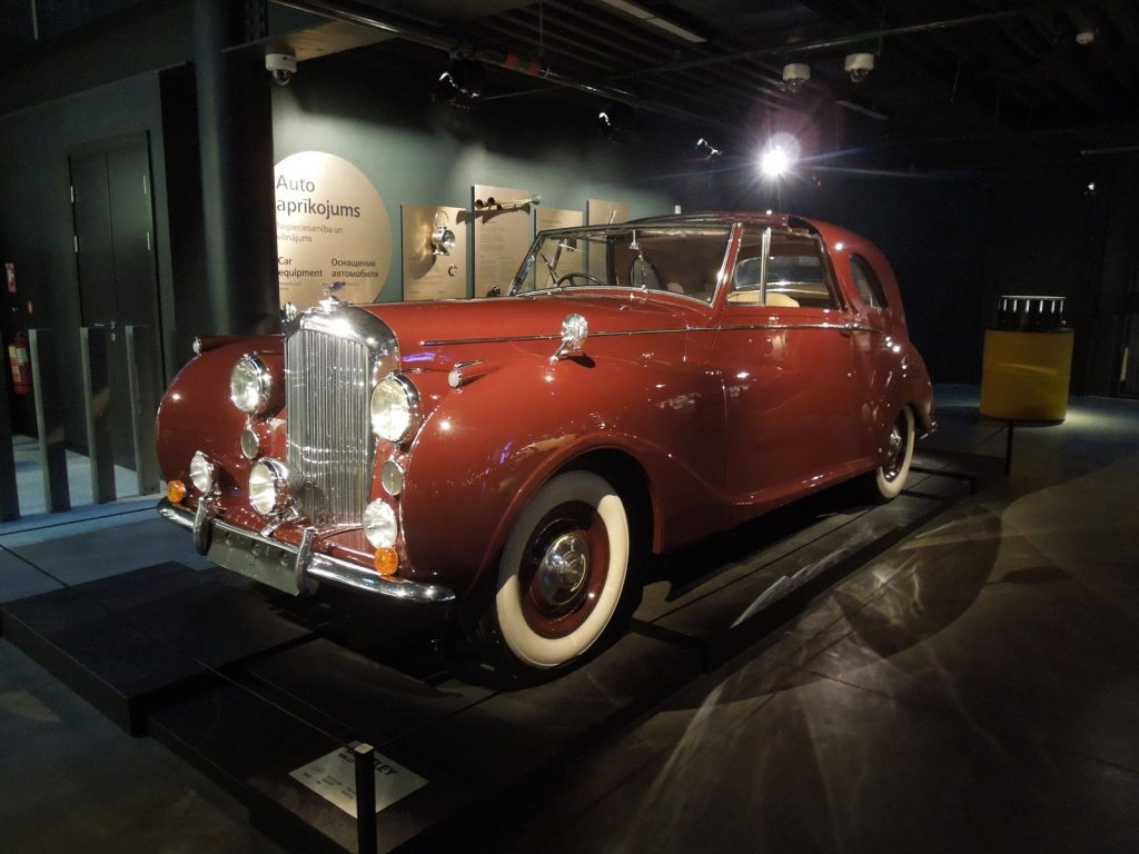 Bentley Mk VI 1946 года