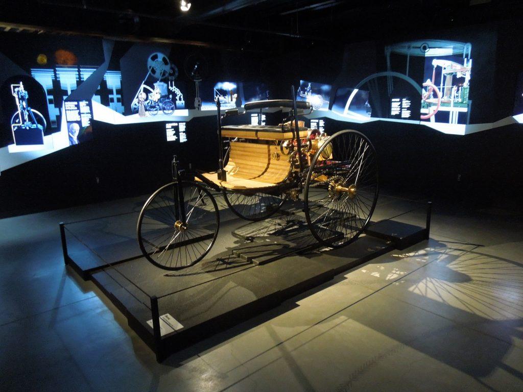 Benz Patent-Motorwagen 1886 года