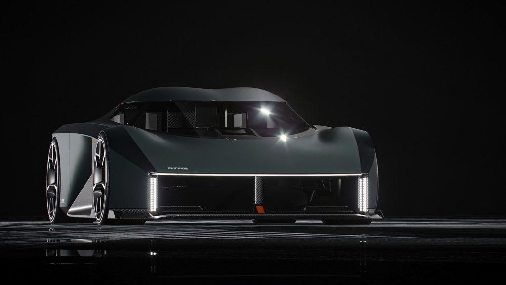 Koenigsegg RAW 2020, вид спереди