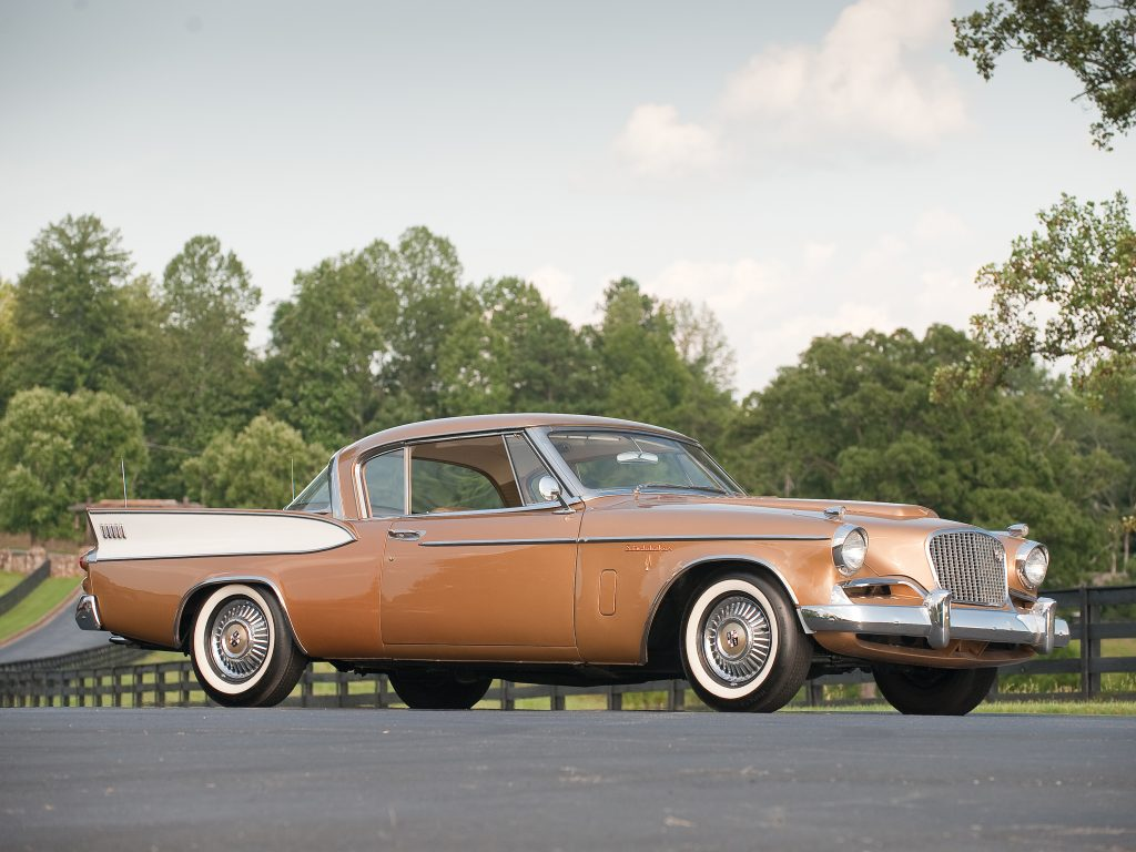 Studebaker Golden Hawk 1957 года