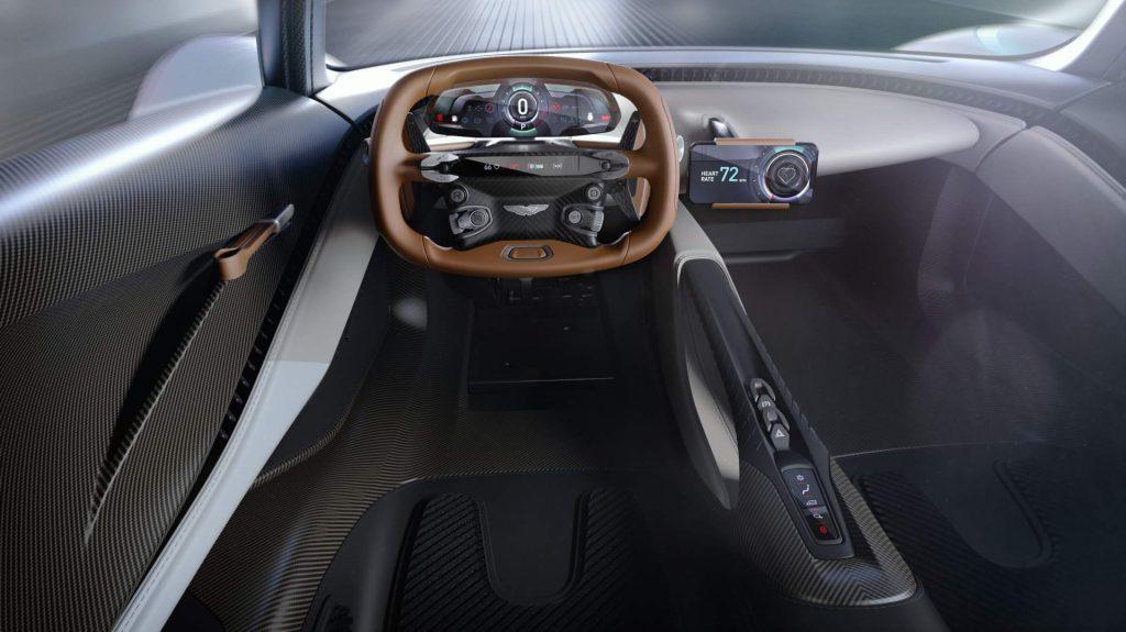 Aston Martin Valhalla 2020, передняя панель