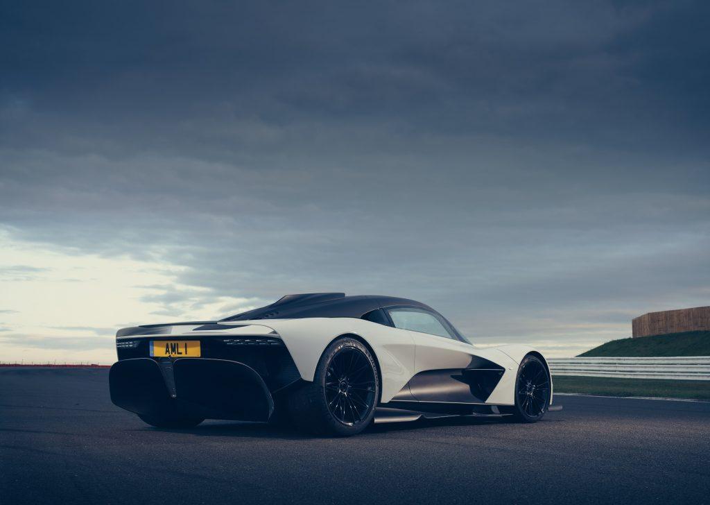 Aston Martin Valhalla 2020, вид сзади