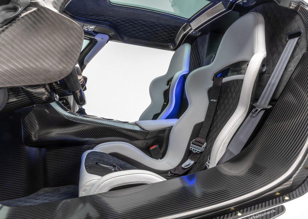 Новый Koenigsegg Jesko Absolut, сиденья