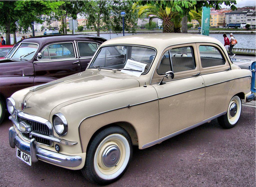 Первенец SEAT 1400 1953 года