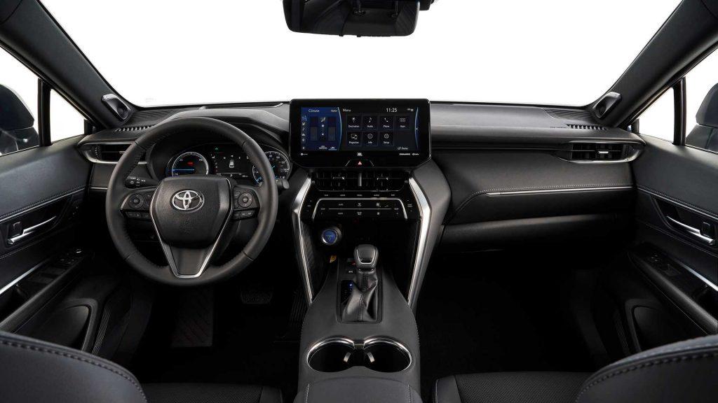 Toyota Venza, передняя панель