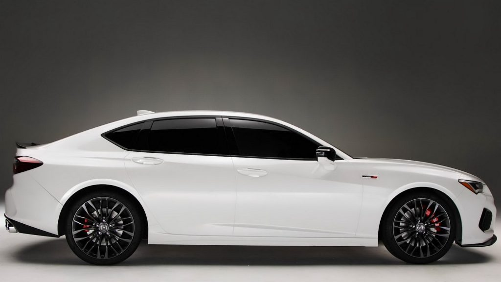 Acura TLX 2020, вид боку