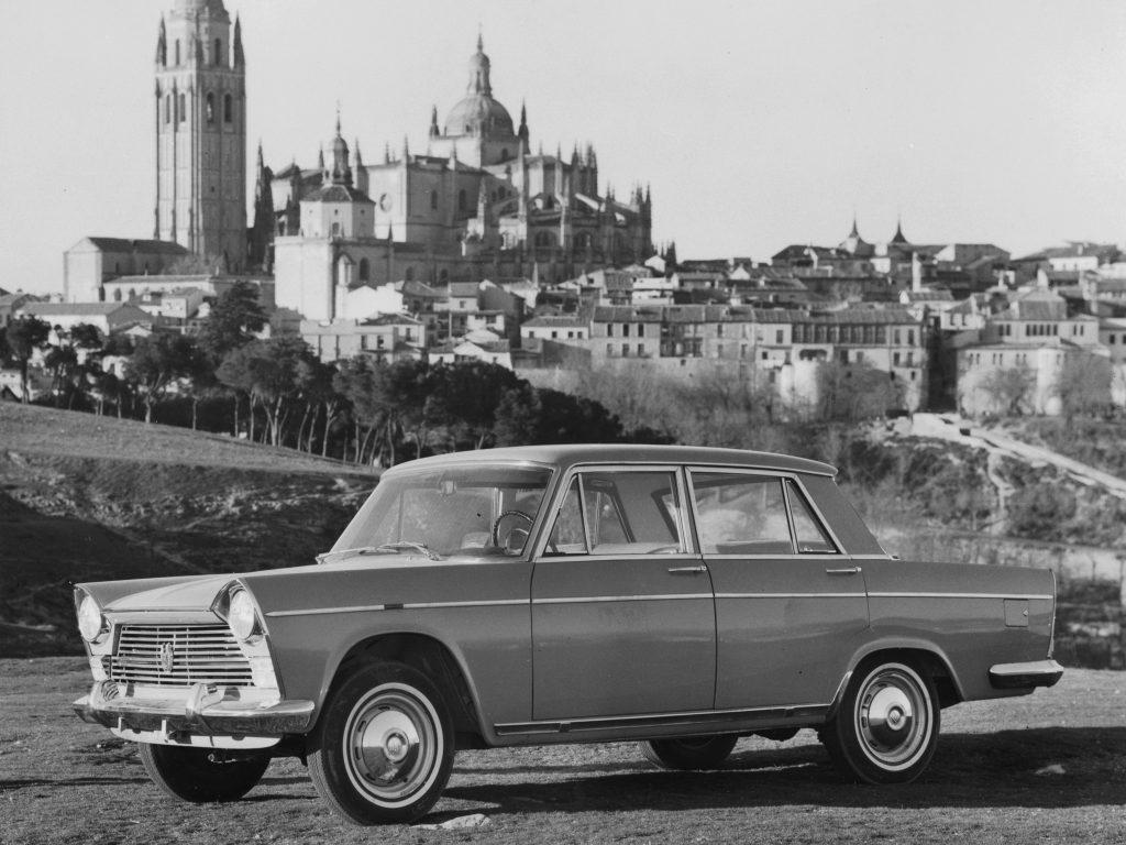 SEAT 1500 1963 года