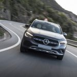 Mercedes-Benz GLA 220d mountaingrau magno; Leder - macchiatobeige/schwarz;Kraftstoffverbrauch kombiniert: 4,9-4,7 l/100 km; CO2-Emissionen kombiniert: 129–123 g/km  Mercedes-Benz GLA 220d mountain grey magno; Leather - macchiato beige/black;Fuel consumption combined: 4.9-4.7 l/100 km; combined CO2 emissions: 129-123 g/km