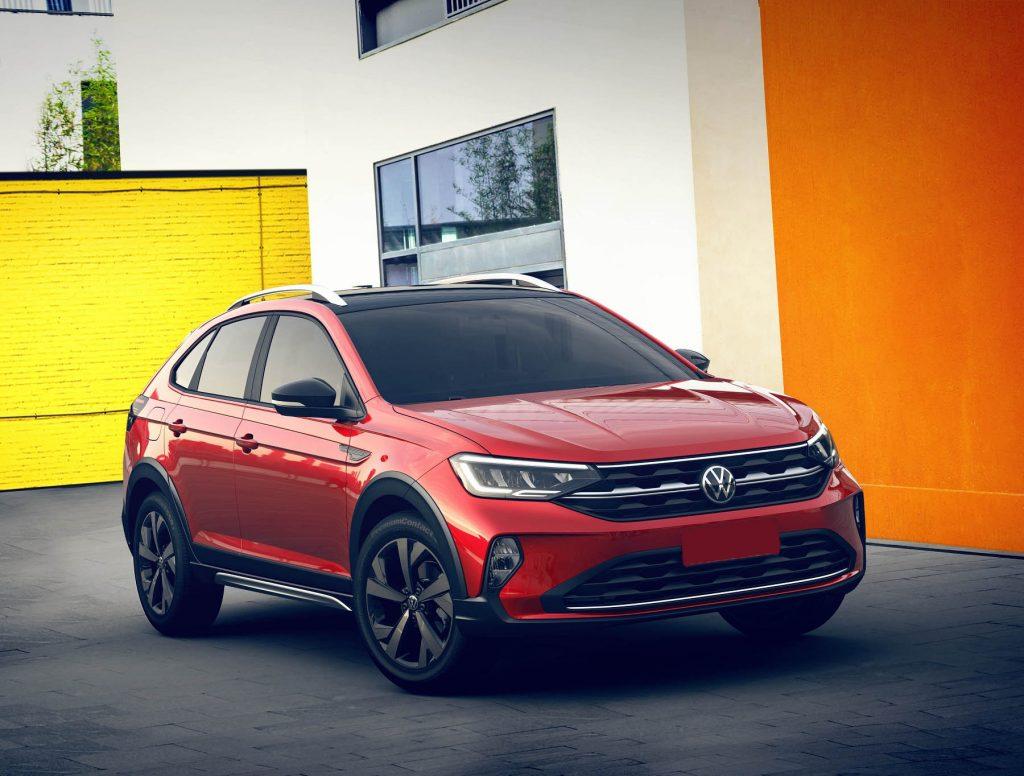 Volkswagen Nivus 2020, вид спереди
