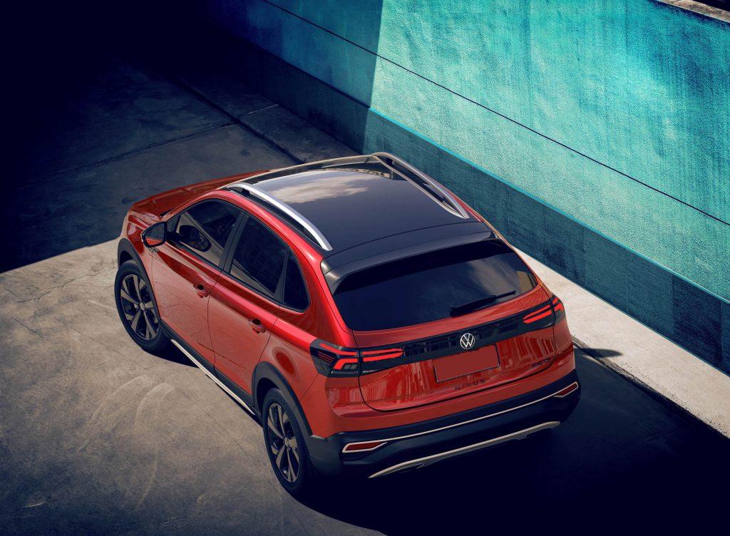 Volkswagen Nivus 2020, вид сзади