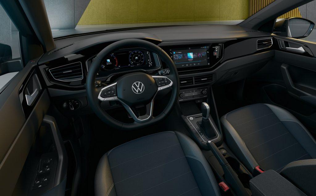 Новый Volkswagen Nivus, салон