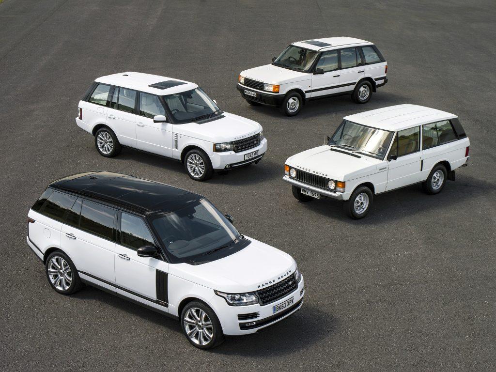 За полвека Range Rover не изменил принципам