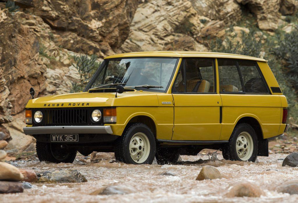 Range Rover 1970 года