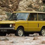 Первый серийный Range Rover 1970 года