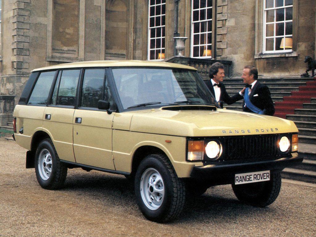 Пятидверный Range Rover, 1981 год