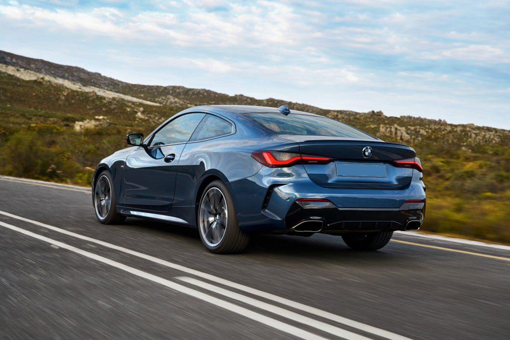 BMW 4 Series 2020, вид сзади