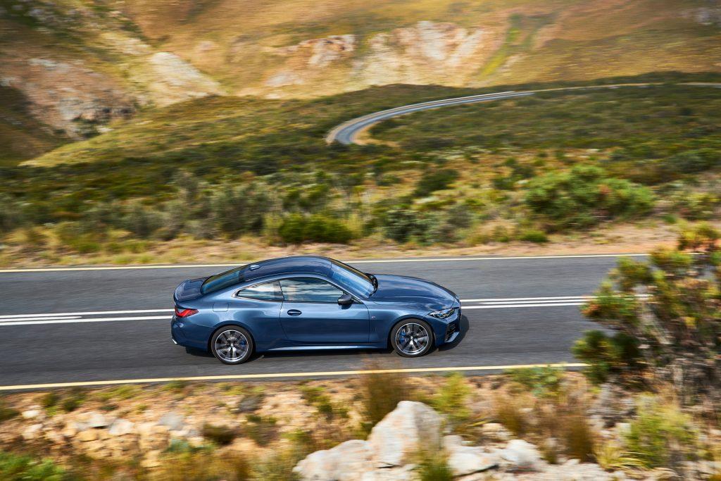 BMW 4 Series 2020, вид сбоку