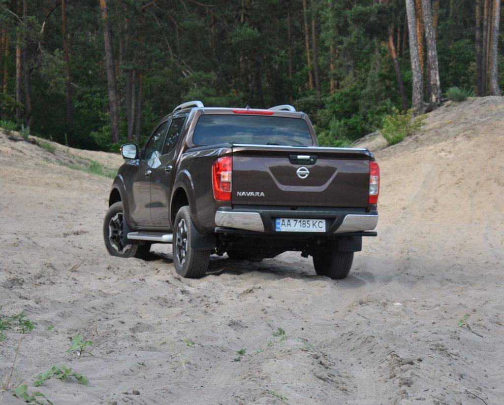 Nissan Navara 2020, вид сзади
