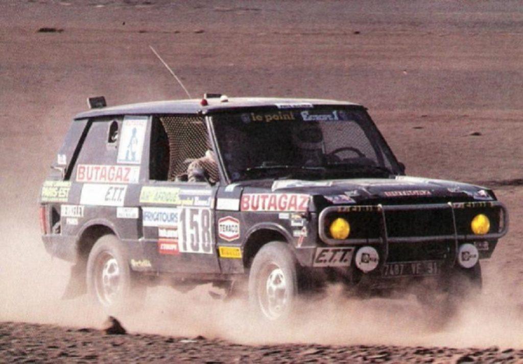 Range Rover дважды выигрывал ралли «Париж-Дакар»