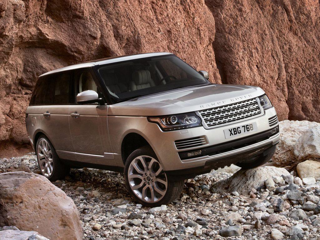 Range Rover четвертого поколения, 2012 год