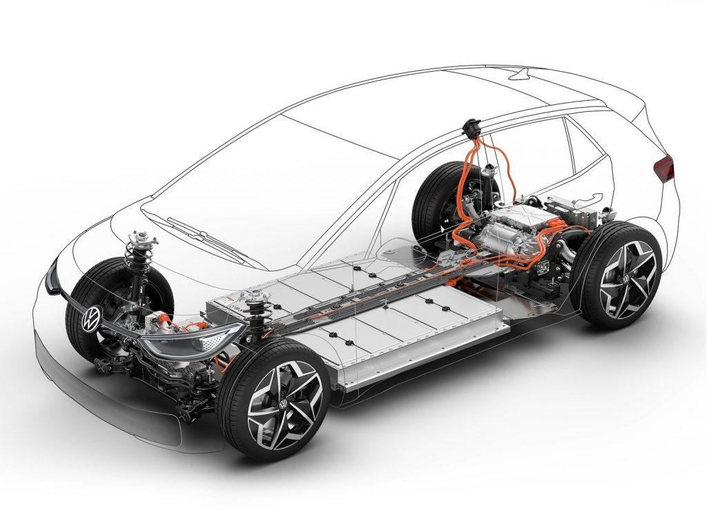 Новый Volkswagen ID.3, силовая установка