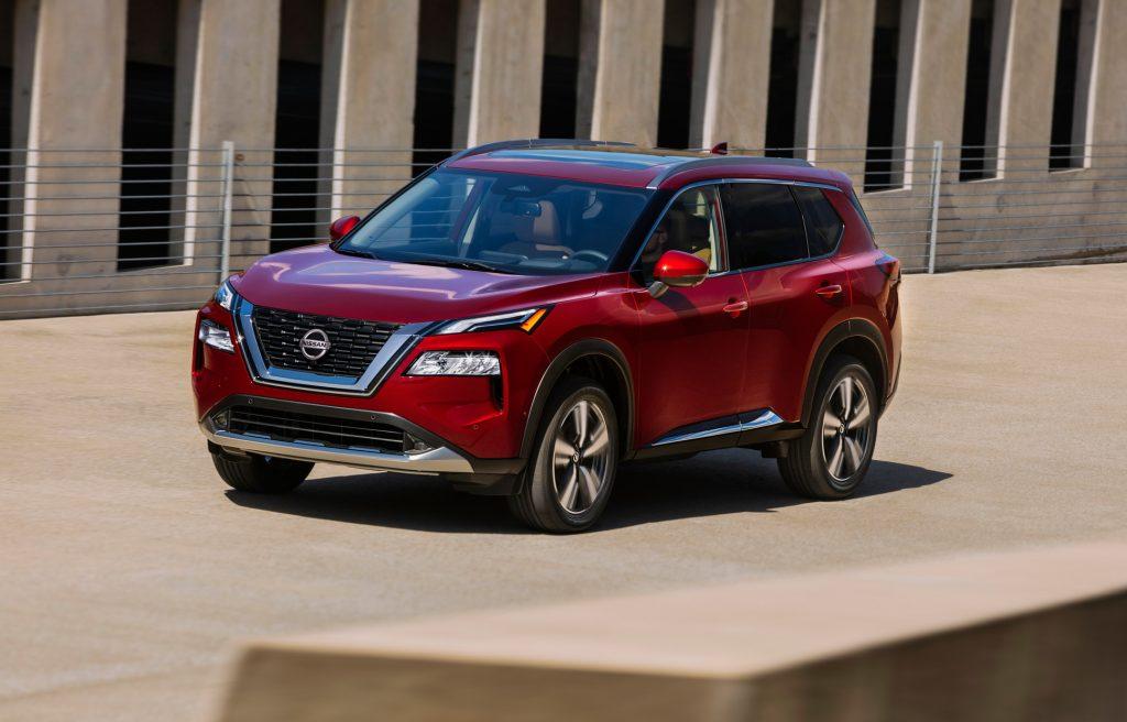 Nissan X-Trail 2020, вид спереди