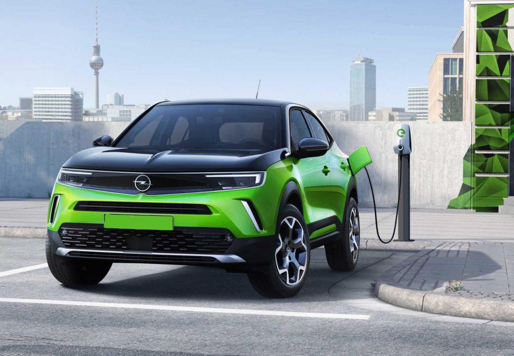 Opel Mokka 2020, вид спереди
